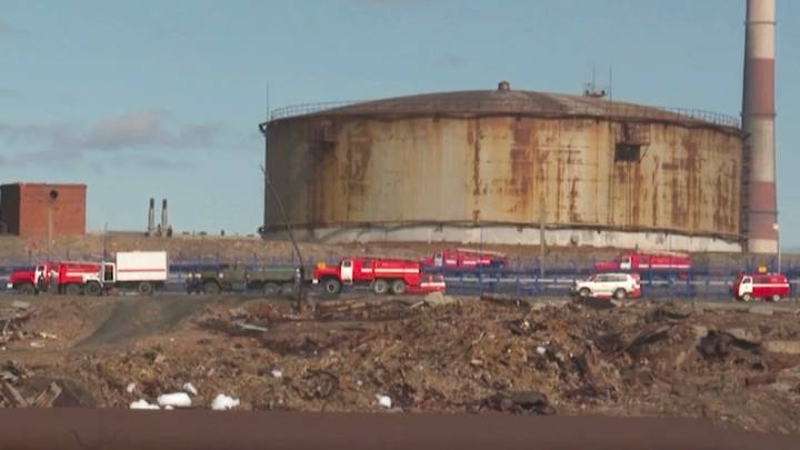 Vladimir Putin Declares State Of Emergency After Large Siberian Fuel Spill