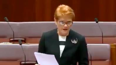 Pauline Hanson Is Moving A Motion In The Senate To Recognise 'All Lives Matter'